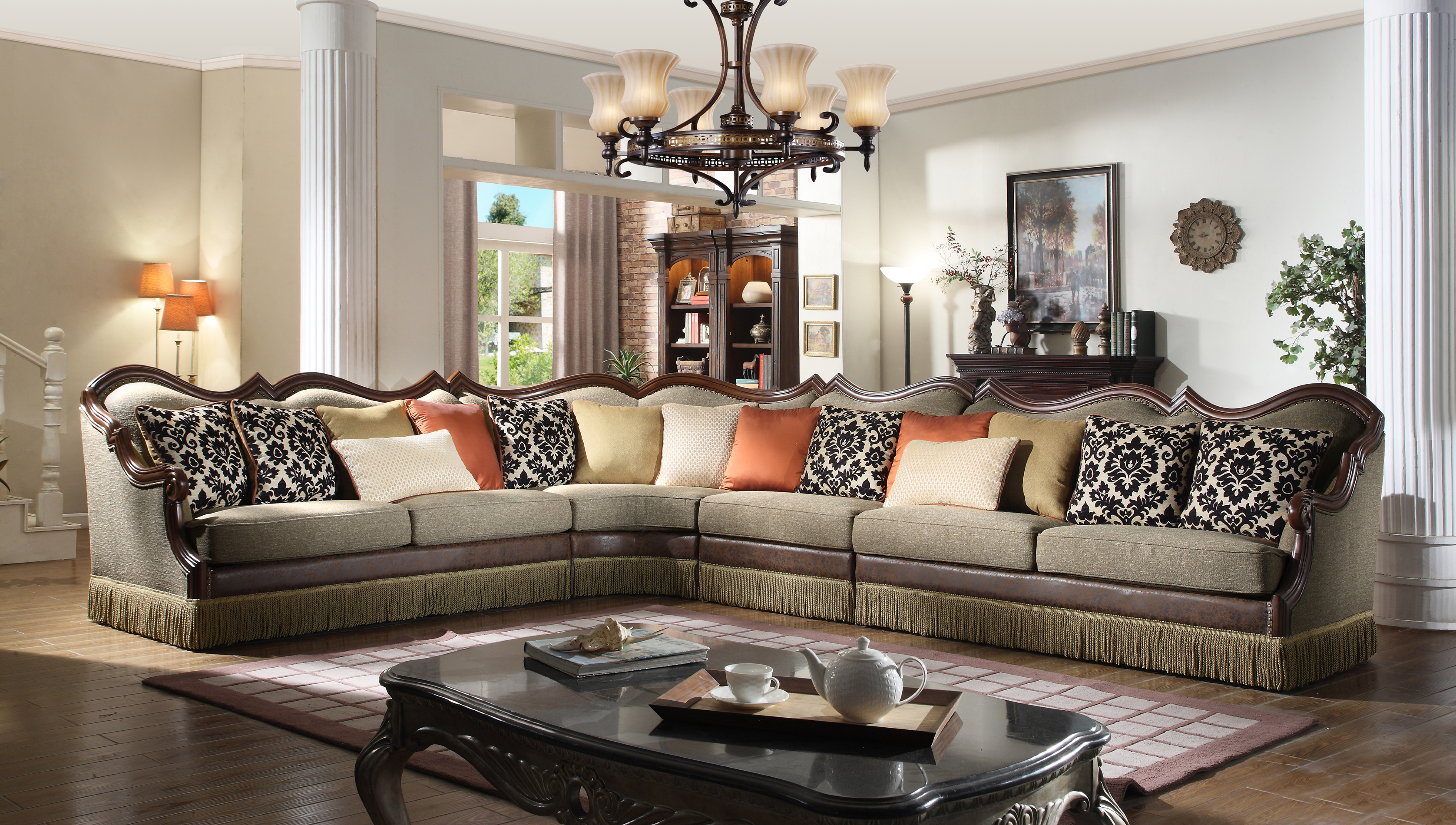 sofa city direct reviews sets for small living room traditional 4pc sectional hot sectionals