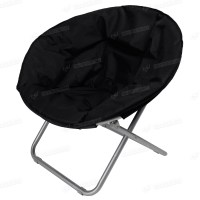 Large Moon Chair Folding Papasan Dish Chair Saucer Cushion