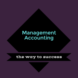 badge showing the importance of management accounting as a success factor