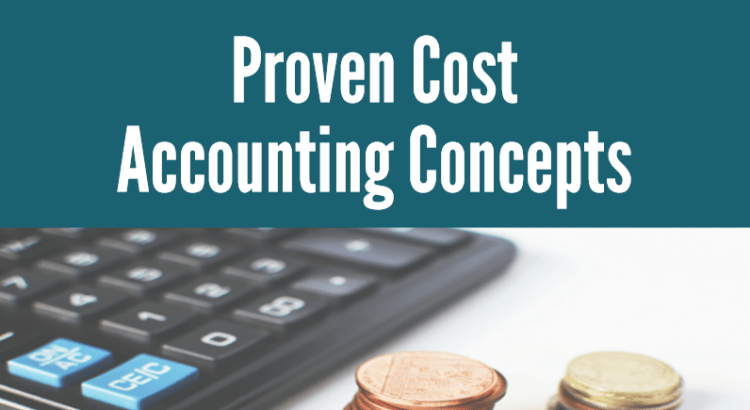 Proven cost accounting concepts title image