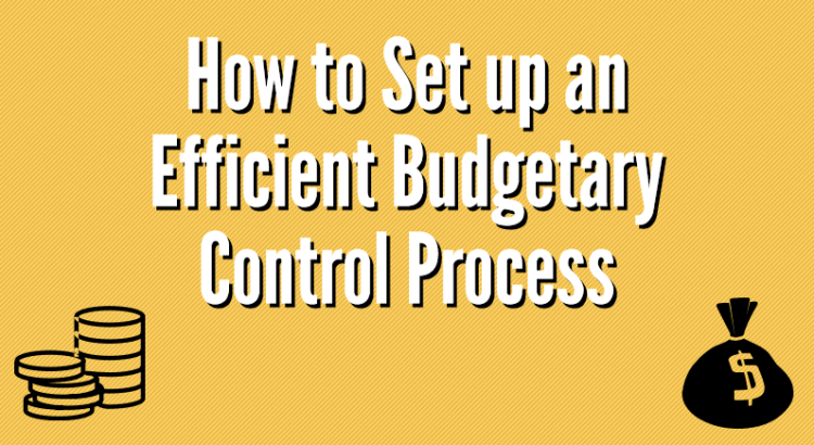 title image to article about setting up an efficient budgetary control process