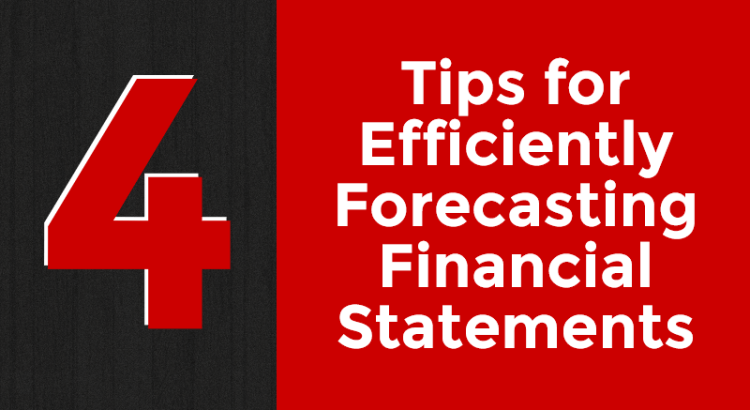 Title image to article about forecasting financial statements