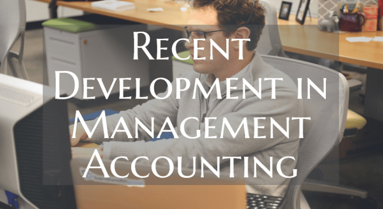 Title image to article about recent development in management accounting