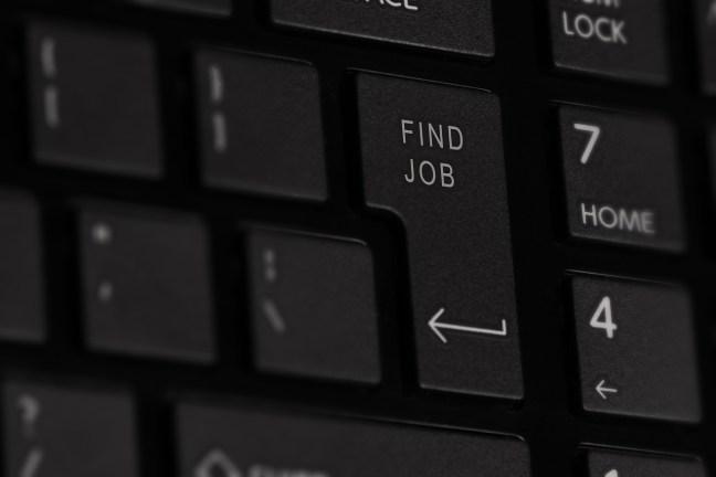 illustrative picture on job hunting