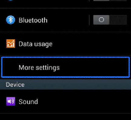 Setup hotspot on Alcatel Shine Lite