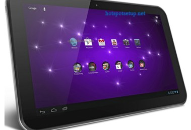 Setup wifi Hotspot on Toshiba Excite – Make your tablet as wireless Internet service provider