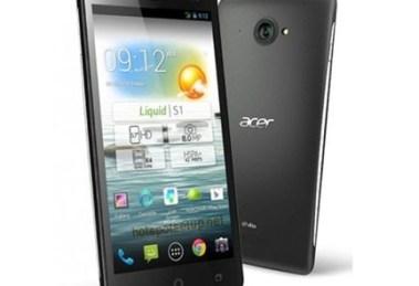 Acer liquid S1 Mobile as portable WiFi hotspot