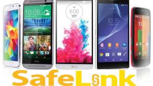Safelink touch screen phones