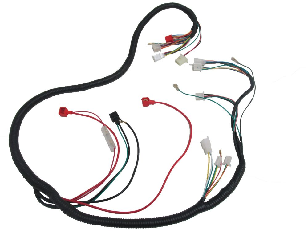 medium resolution of scooter electrical wire harness 150cc 125cc