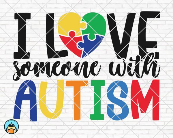 Download I Love Someone With Autism SVG - HotSVG.com