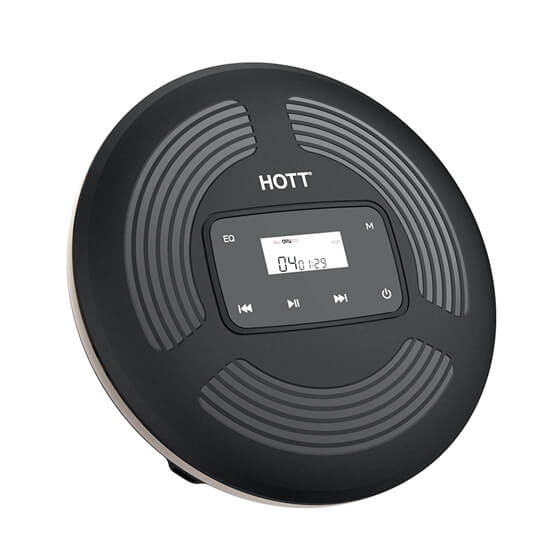 HOTT CD903 Rechargeable Touch Buttons CD Player
