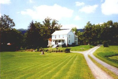 The Hottel-Keller Farm House.