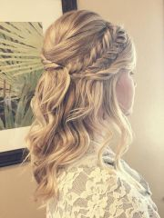 charming bridesmaid hairstyles
