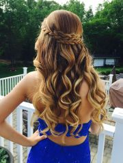 glamorous prom hairstyles