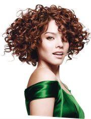 stylish and glamorous curly