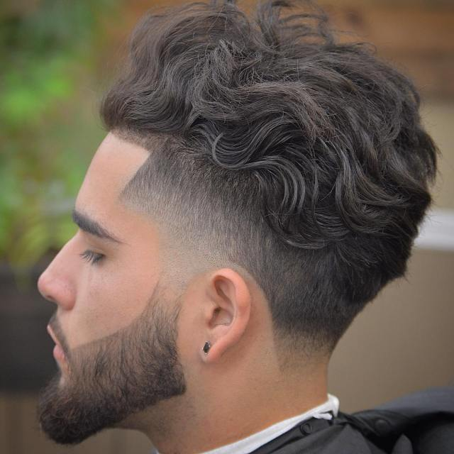 18 curly hairstyles for men to look charismatic - haircuts