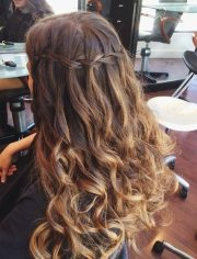 homecoming hairstyles long