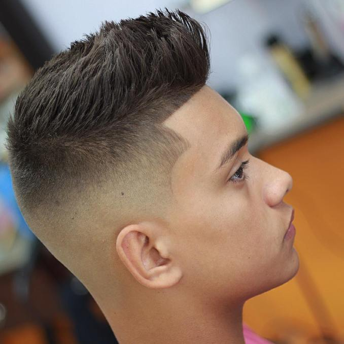40 cool and classy spiky hairstyles for men - haircuts