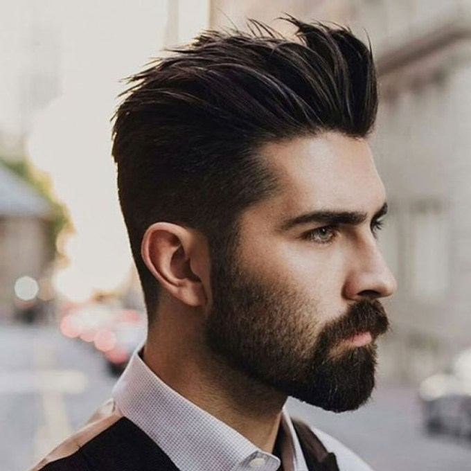 widows peak hairstyles for men - 20 hairstyles for dapper
