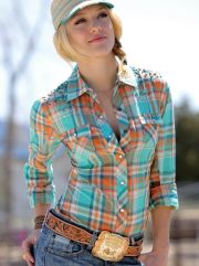 attractive and unique cowgirl