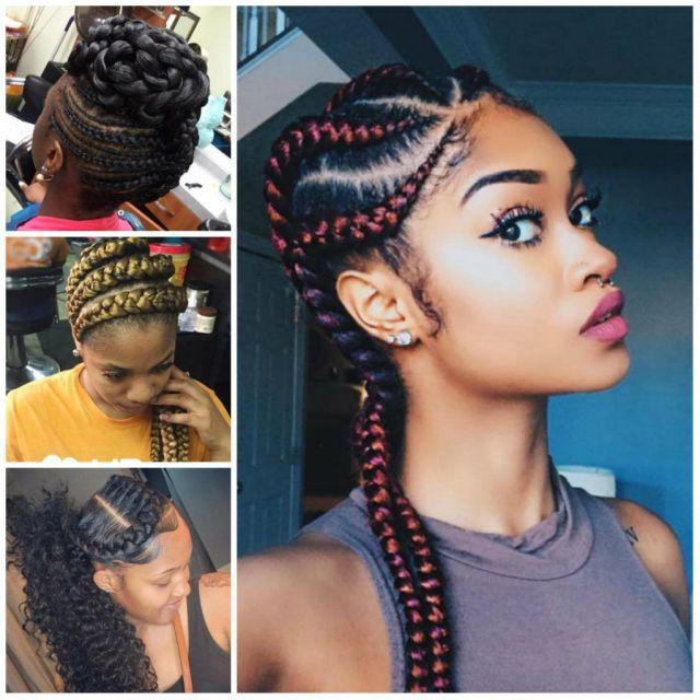 40 stunning and stylish goddess braids hairstyles - haircuts