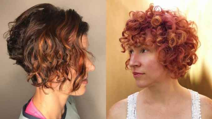 20 short curly hairstyles for women to look vivacious