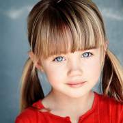 cute and adorable little girl