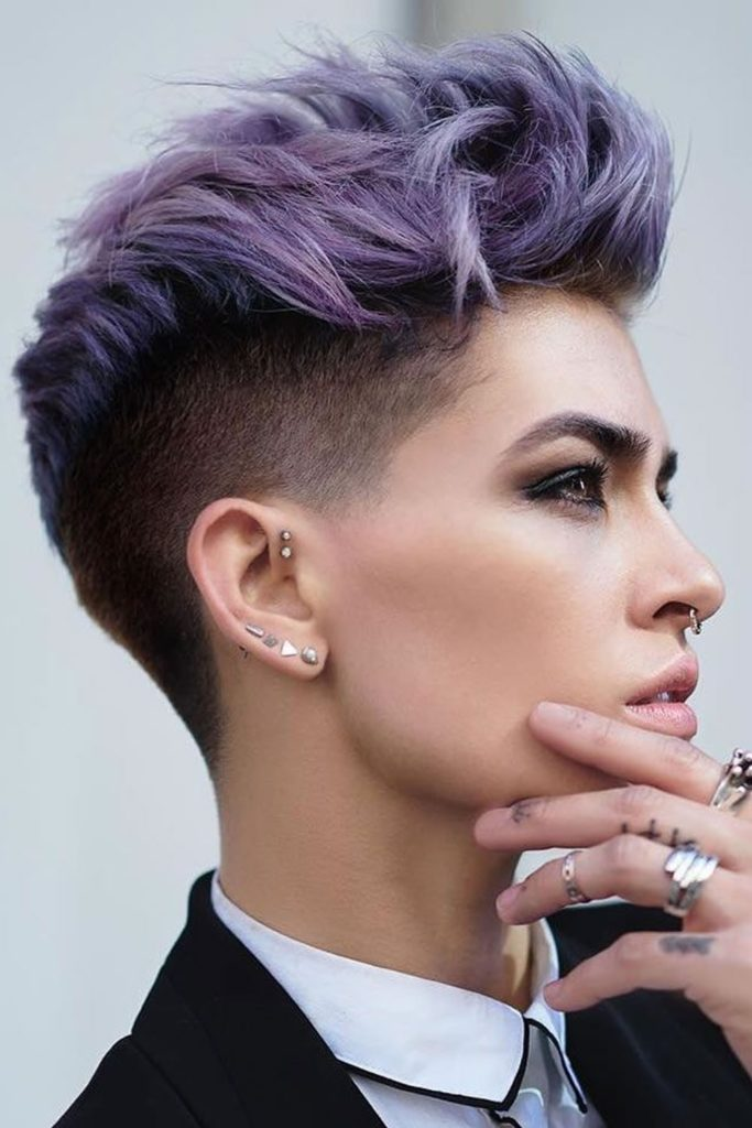 25 Fade Haircuts For Women Go Glam With Short Trendy