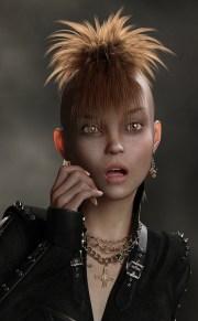 cyberpunk haircuts bold