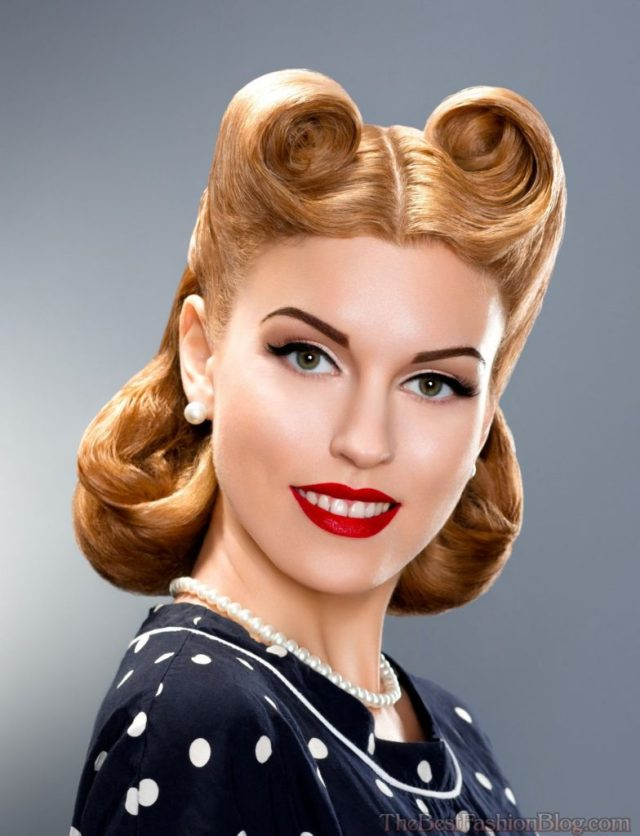 21 pin up hairstyles for an ultimate vintage look - haircuts