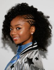 cute and charismatic black girl
