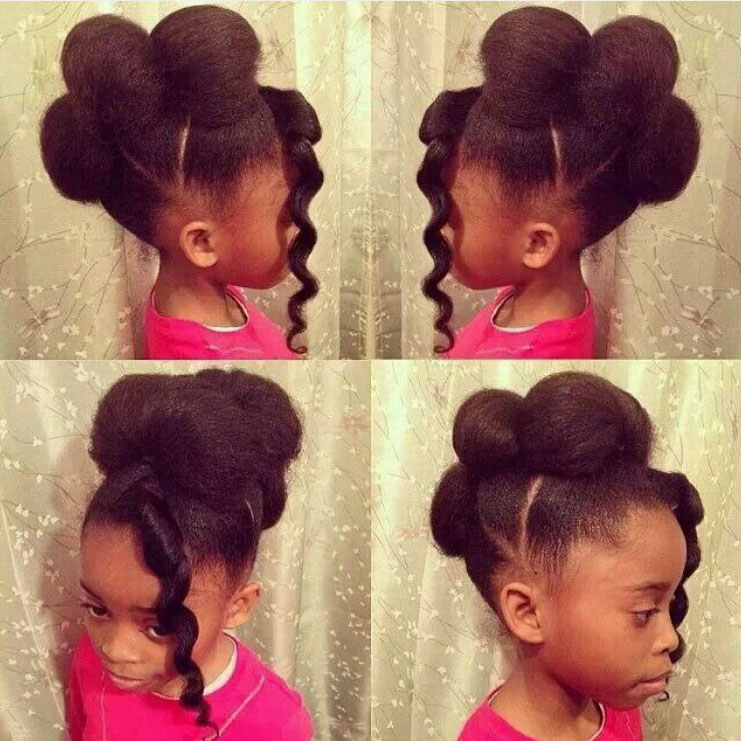 21 Cutest African American Kids Hairstyles Haircuts Hairstyles