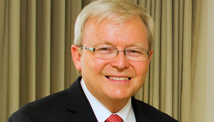 Kevin Rudd, former prime minister of Australia