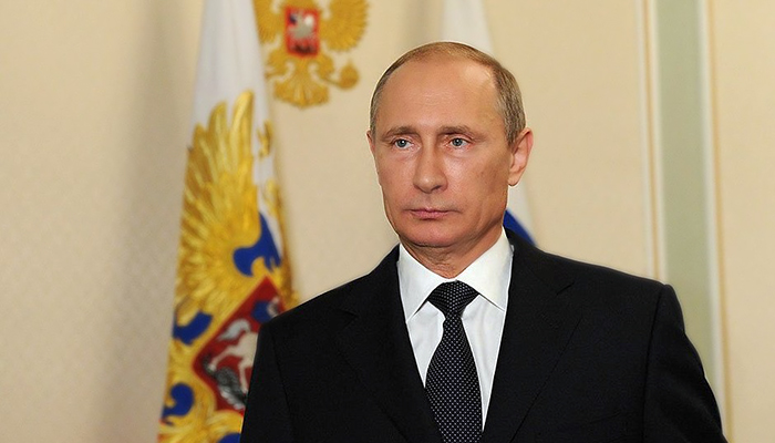 Vladimir Putin ignoring you