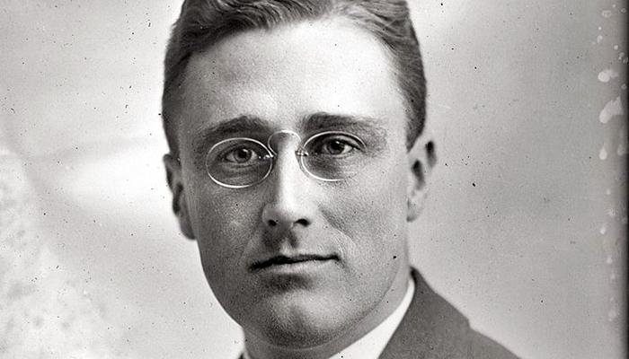 Young Franklin Delano Roosevelt
