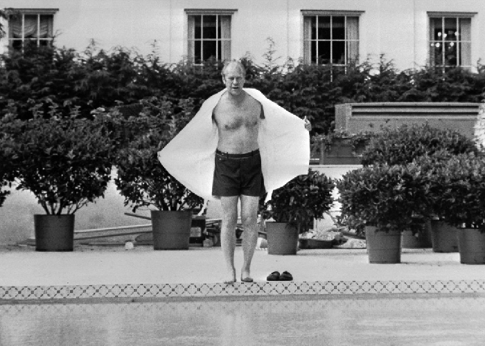 Gerald Ford in a bathing suit