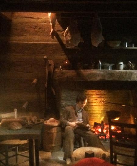 Interior of Lincoln's boyhood home