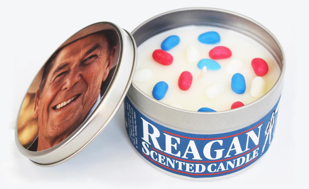Reagan-Scented Candle