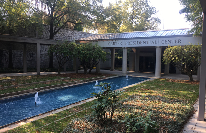 Exterior of the Jimmy Carter Presidential Library and Museum