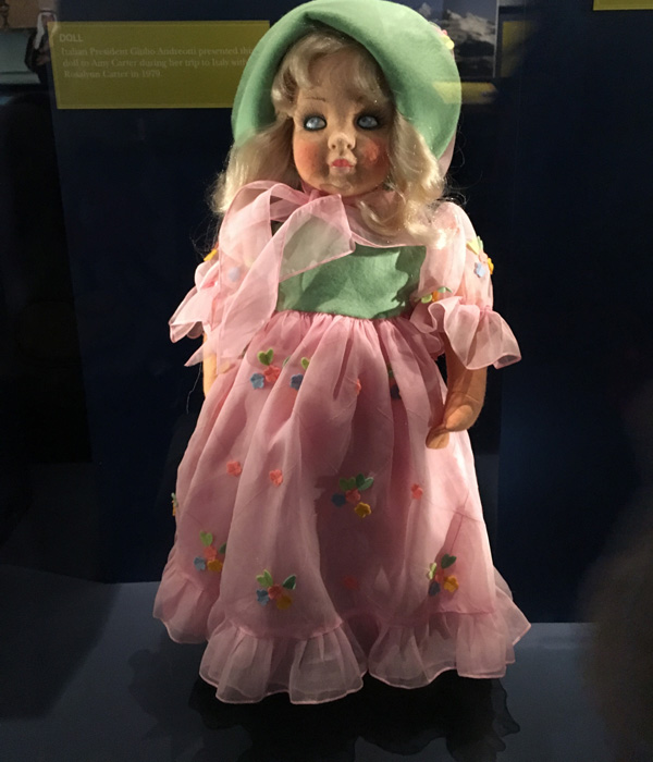 Where did this doll come from?