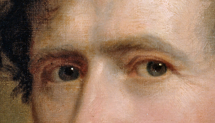 Franklin Pierce's eyebrows