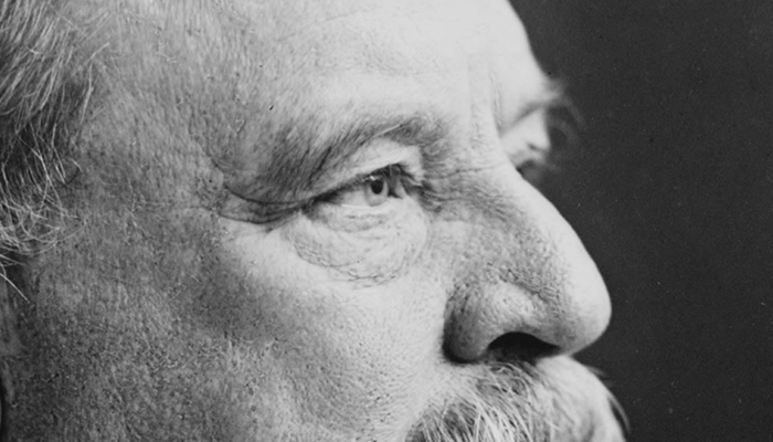 Grover Cleveland's eyebrows