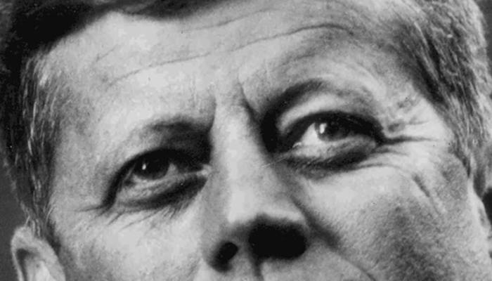 John F. Kennedy's eyebrows