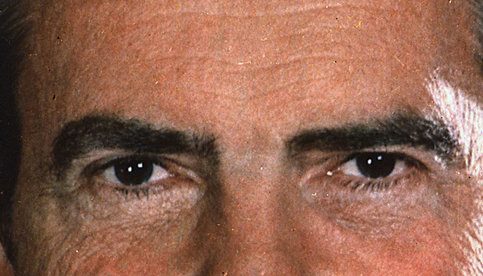 Richard Nixon's eyebrows