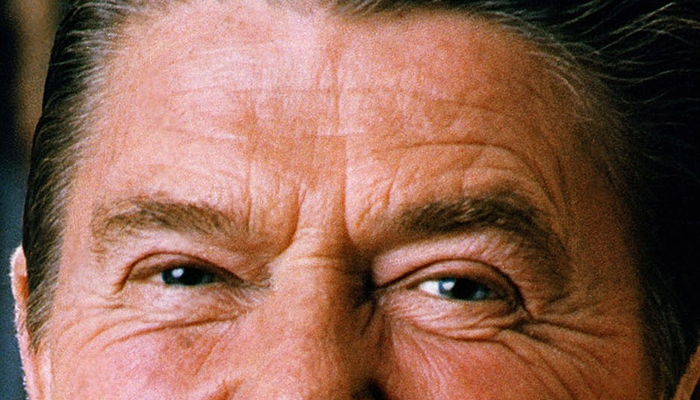 Ronald Reagan's eyebrows