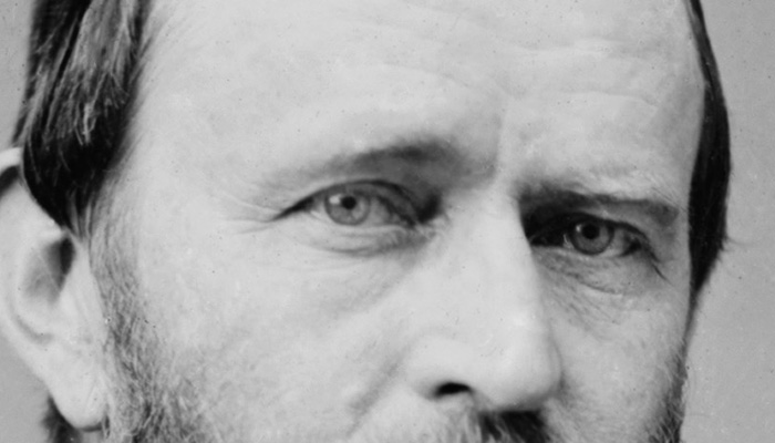 Ulysses S. Grant's eyebrows