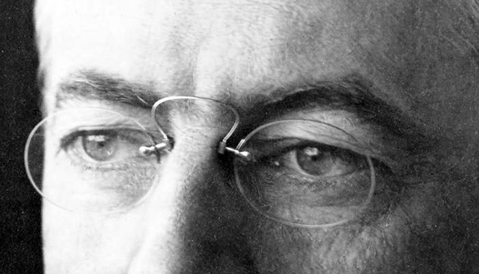 Woodrow Wilson's eyebrows
