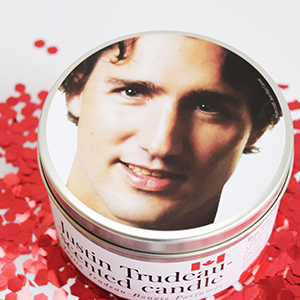 Justin Trudeau-Scented Candle