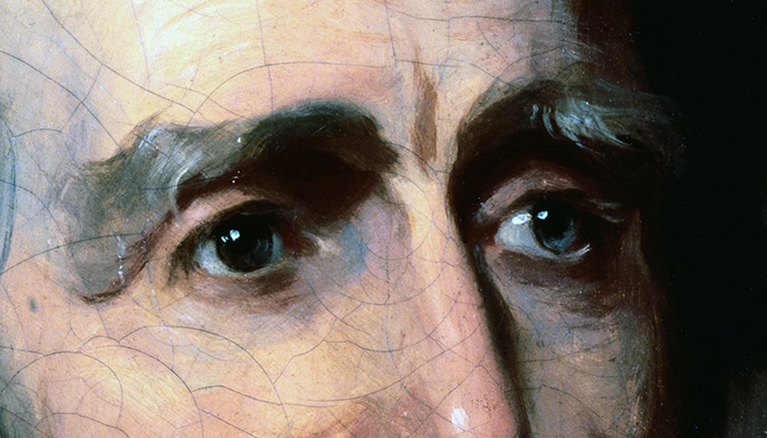 Andrew Jackson's eyebrows