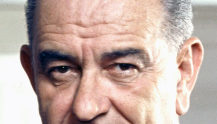 Lyndon B. Johnson's eyebrows